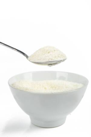 Rice flour photo