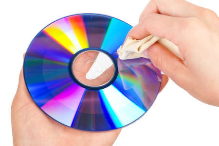 Cleaning DVD photo