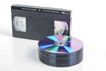 Video tape and DVD photo