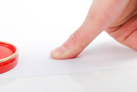 Fingerprint Stock Photo - 14261300