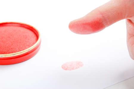 Fingerprint Stock Photo - 14258038