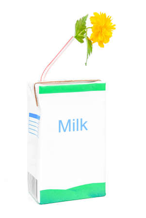 Milk box photo