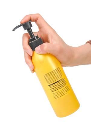 shampooing: Hair gel Stock Photo