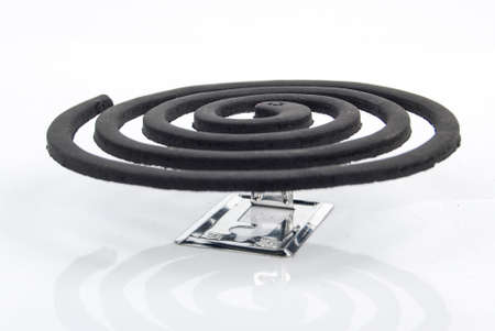 Mosquito coil incense photo