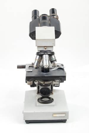 labratory: Microscope Stock Photo