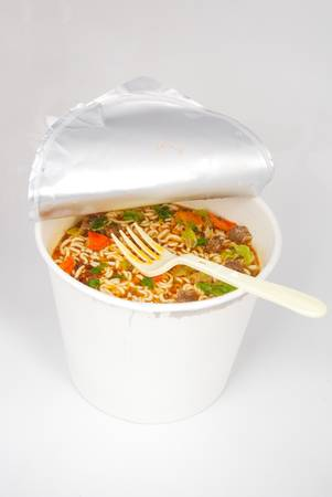 Instant noodles photo