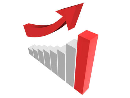 Diagram of business sucess Stock Photo - 17505665