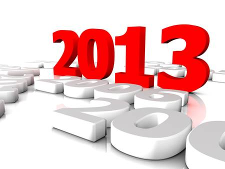 New year 2013 and the old years Stock Photo - 18236057