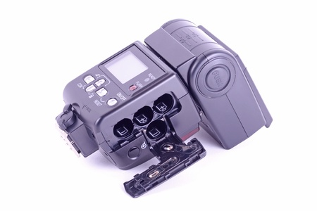 a external single flash for digital camera photo