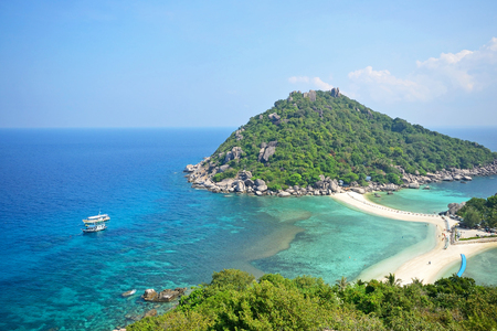 teh Nangyuan island or kor toa from Thailand photo