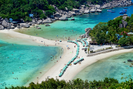 Koh Tao - a paradise island in Thailand.