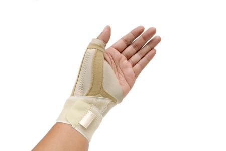 Trigger Finger paint on white blackground (my hand)