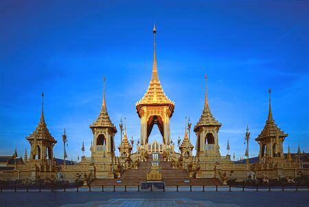 King Rama IX Royal Monument at Sanam Luang 版權商用圖片