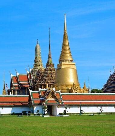 The Temple of the Emerald Buddha in bangkok thailand
