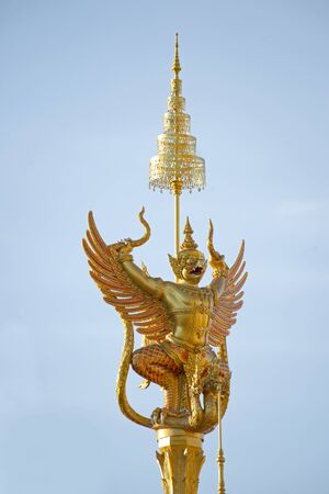 Himmapan creatures animal Statues in the ceremonies of Thailand