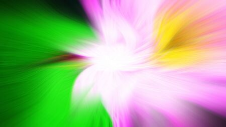 Abstract Multicolor Wavy Line of Light twirl background