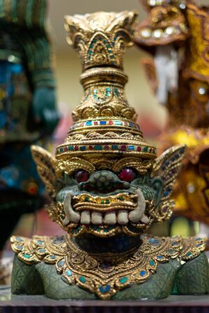 Yoke Thay Puppet of the ancient performing arts in Myanmar Фото со стока