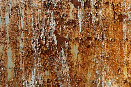 Old galvanized wall weathered paint abrasive.
