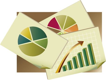 Statistic graph 2 - Papers containing statistical graphs for company success