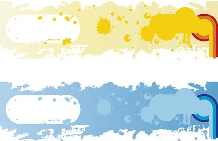 Banner Background. Banners background to be used on websites or in print.  イラスト・ベクター素材