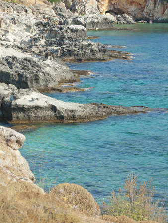 scala: a small beach in Scala, Kefalonia