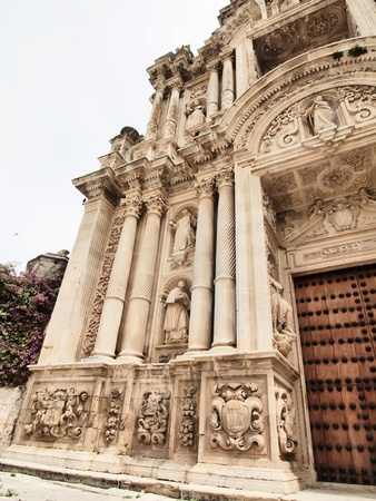 Detail of Monastery of the Carthusian order, Jerez Stock Photo - 13894999