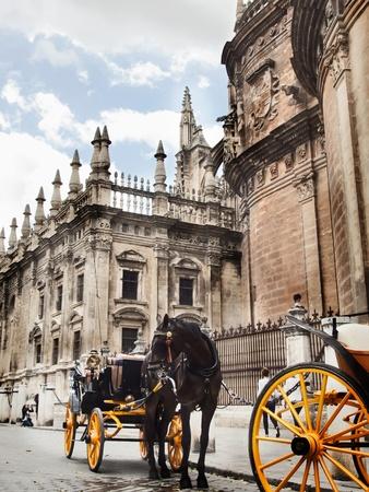 Cathedral of Seville, Spain Standard-Bild