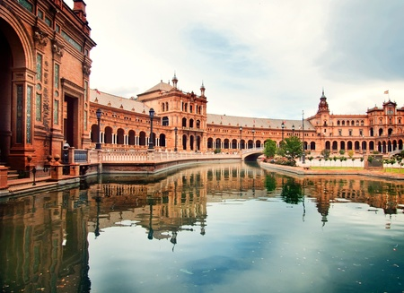Piazza di Spagna a Siviglia, Spagna