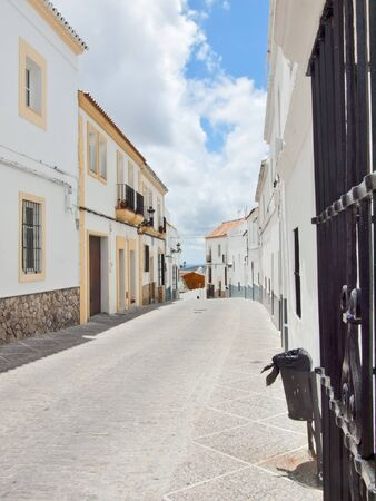 The old white houses in Medina Sidonia, Spain  photo