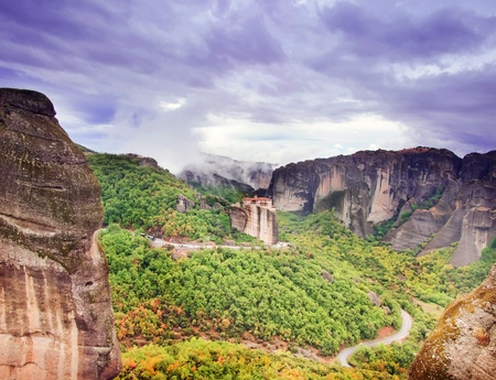 Meteora Greece Stock Photo - 17004450