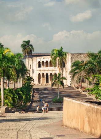 Alcazar de Colon in Santo Domingo, Caribbean