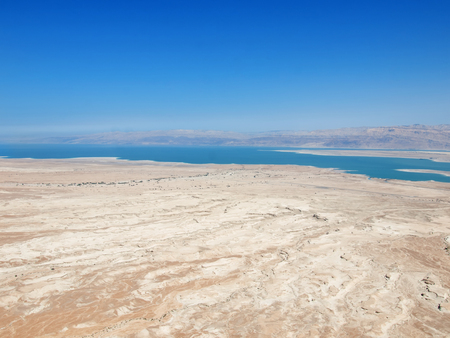 view of Dead Sea, Israel photo