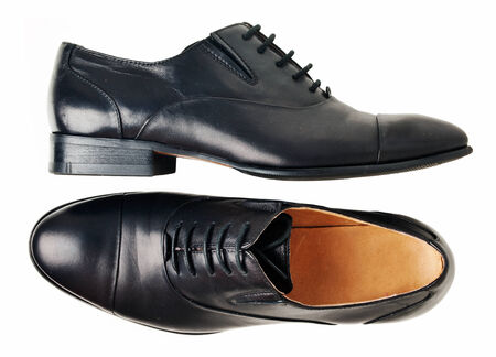 doublet: Black classic shoes isolated