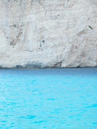 sunken: Navadzhio Beach (the island of sunken ships) Zakynthos, Ionian Islands