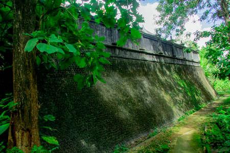 walls Tomb of the Imogiri Kings on yogyakarta