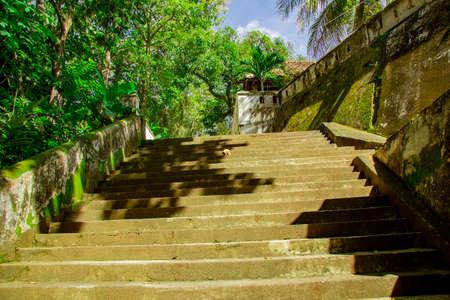 stairs to enter Tomb of the Imogiri Kings on yogyakarta