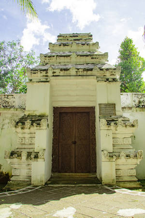 doors to enter Tomb of the Imogiri Kings on yogyakarta Stock fotó