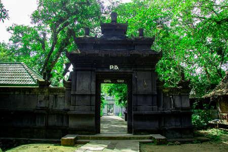 gate Tomb of the Imogiri Kings on yogyakarta