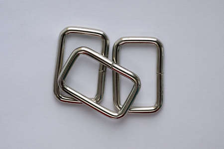 Steel frame nickel-plated accessories for bags. detachable iron wire frame. Accessories for the manufacture of bags, backpacks and for fixing the belt.