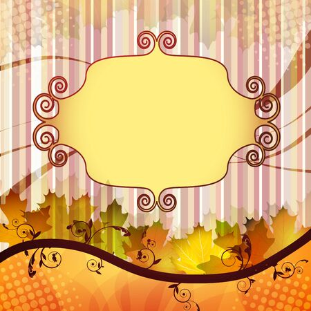 background, blend, botany, bright, brown, change, closeup, collage, collection, color, colorful, content, decor, decoration, decorative, design, element, empty, environment, fall, flora, foliage, forest, fresh, illustration, leaf, light, natural, nature,  Stock Vector - 15322721