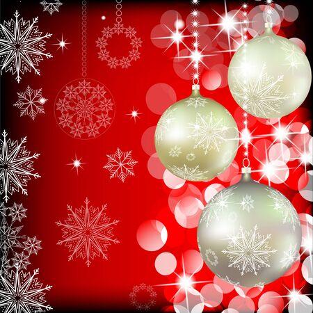 つまらないものをクリスマスの背景