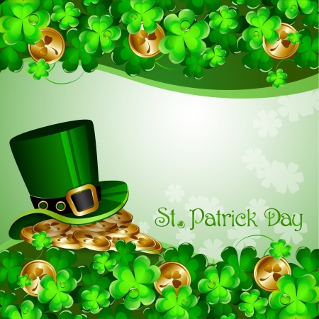 St Patrick s Day background Stock Vector - 18048408