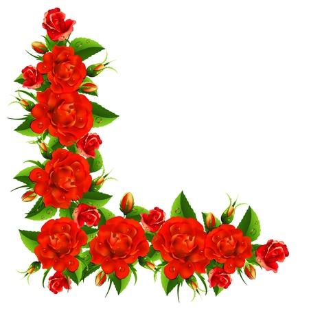バラから美しい花束