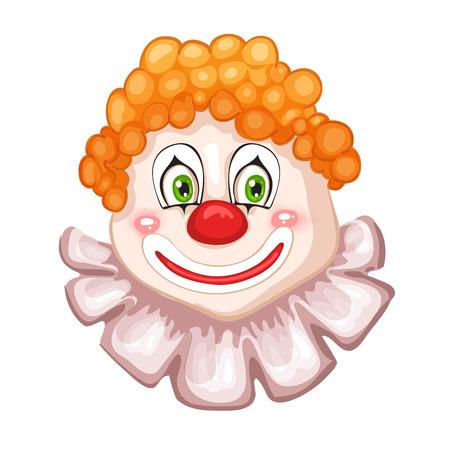 clown face: Clown face