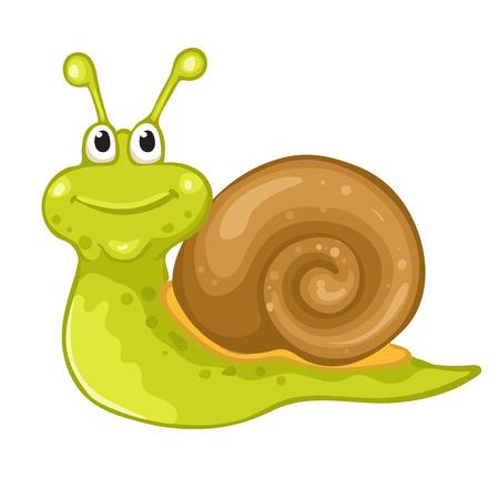 cartoon snail: Funny snail cartoon
