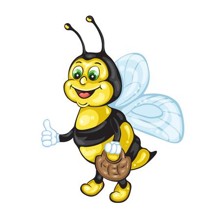 cute bee: Bee cartoon