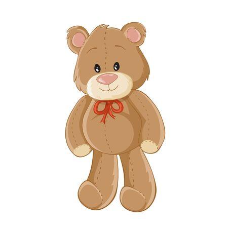 cute bear: Cute cartoon teddy bear Illustration