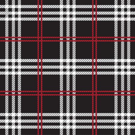 タータン チェック、格子柄のシームレス パターン。