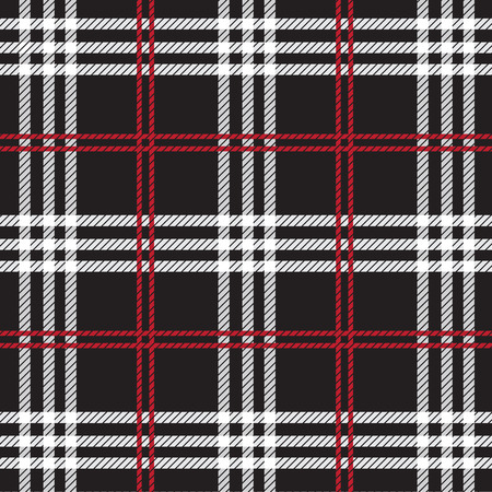 Tartan, plaid Naadloze patroon. Stock Illustratie