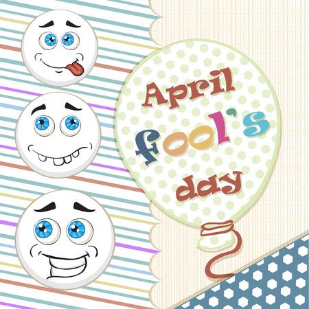 pranks: Illustration Celebrating April Fools Day Illustration